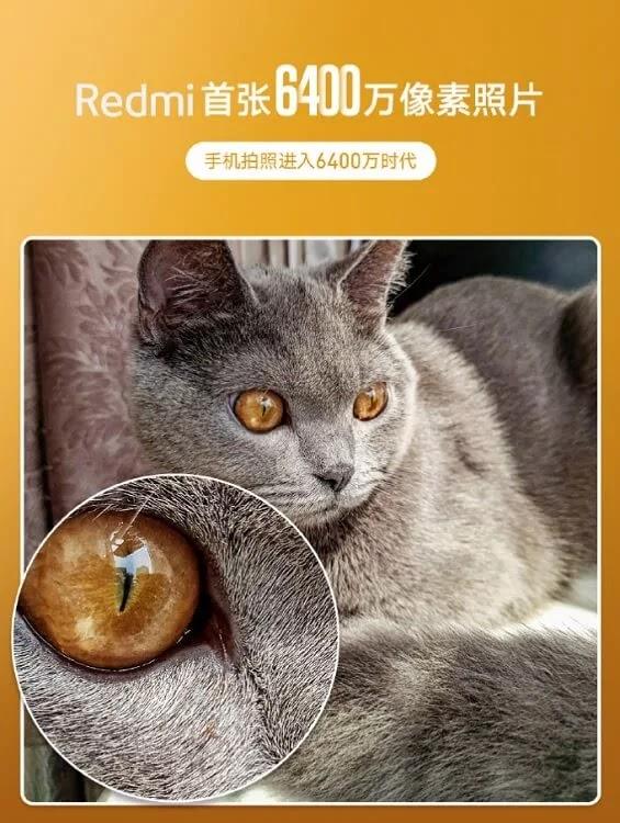 Redmi Teases a 64MP Smartphone