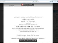 PERATURAN BARU KEMENDIKBUD TENTANG PENERIMAAN PESERTA DIDIK BARU TAHUN 2017/2018