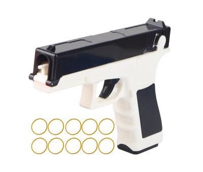 Súng bắn thun Glock màu trắng 1