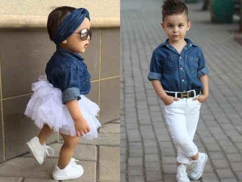 एक व्यस्त माँ के लिए फैशन ट्रिक्स जो चाहती है कि उसका बच्चा एक फैशनिस्टा की तरह दिखे