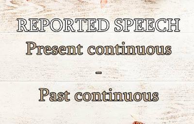 Materi reported speech present continuous: penjelasan, rumus, contoh kalimat