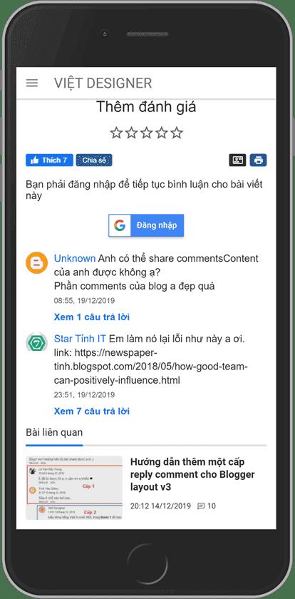 blogger google signin button