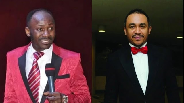 Apostle Suleman reacts as Freeze apologizes to Oyedepo