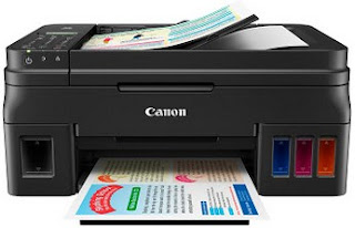 documents automatically and ID card copy to facilitate photocopying of identity cards Canon G4000 Drivers Download