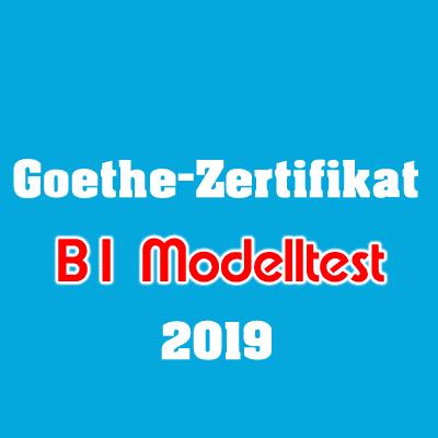 Goethe-Zertifikat B1 Modelltest