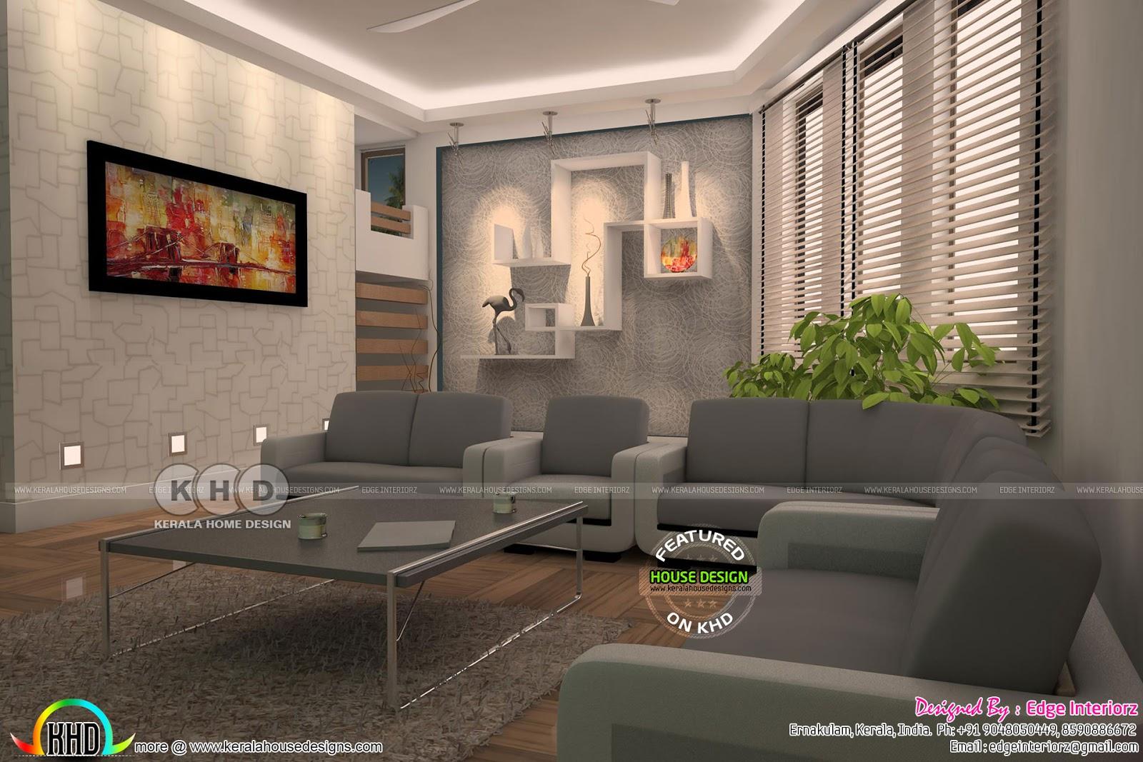 Home Interior Design By Edge Interiorz Kerala Home