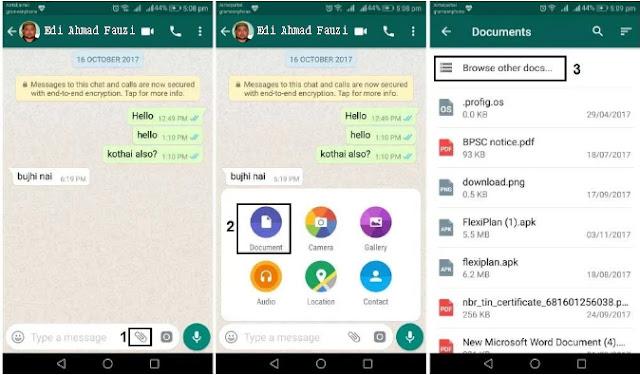 Cara Mudah Mengirim Foto dan Gambar Berkualitas Tinggi Melalui WhatsApp 2