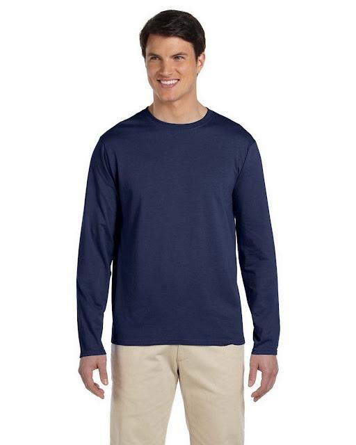 Gildan G644 SoftStyle Long Sleeve T-Shirt (10 Colors)