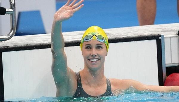 Australian Female Swimmer Emma McCain Makes History in Olympics