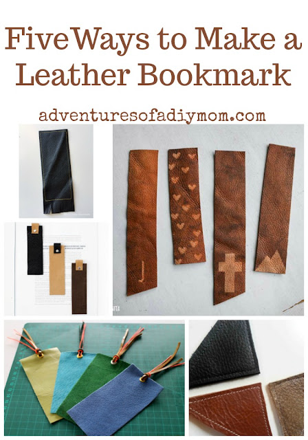 Five Ways to Make a Leather Bookmark