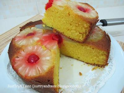 Resep Cake Nanas - Pineapple Upside Down Cake