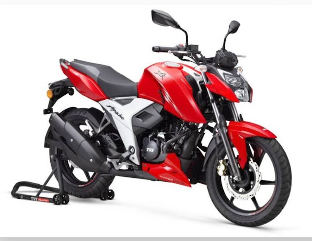 TVS start taking booking BS6 engine Apache bike.