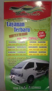 Jadwal Travel Indramayu