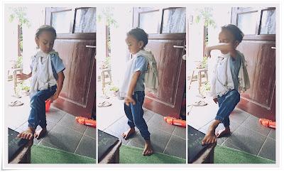 anak pandai menari gedruk
