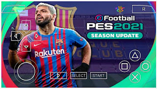 Download PES 2021 PPSSPP New Update Latest Transfer AGUERO TO BARCELONA & Graphics Real Face HD