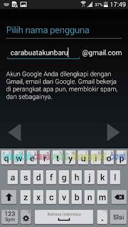 Cara Membuat Akun Google Lewat HP Samsung Galaxy