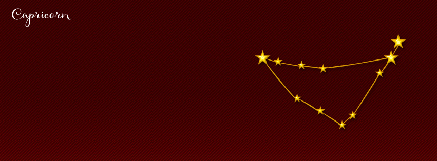 Capricorn Facebook cover