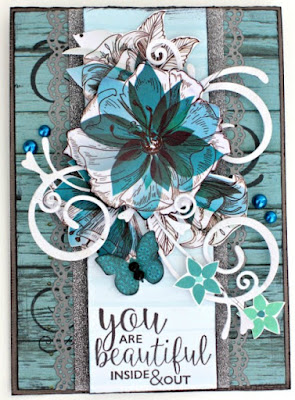 Kaisercraft Sea Breeze card by Alicia McNamara