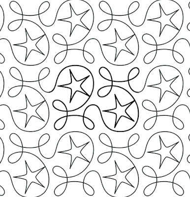 'Ginger Stars' designed by Apricot Moon