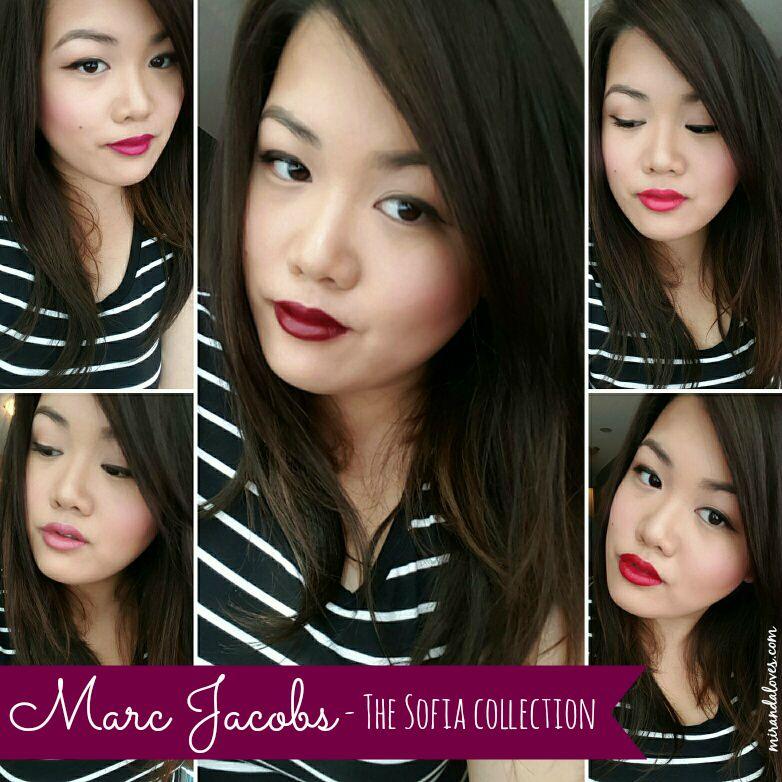 553f8e51fd7c Marc Jacobs Beauty - The Sofia - Five Piece Petites Le Marc Lip ...
