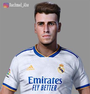 PES 2021 Faces Antonio Blanco by Rachmad ABs