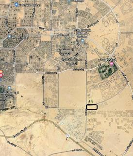 خريطة منطقة غرب الجامعات التجمع الخامس القاهرة الجديدة Western universities Fifth Avenue