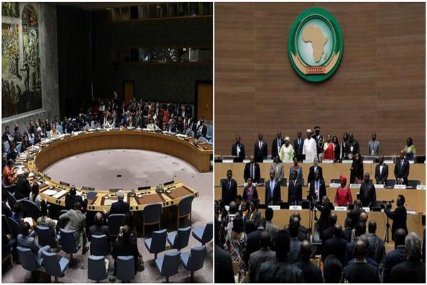 مجلس الأمن يُبلغ أعضائِه بموقف رئاسة الإتحاد الإفريقي بشأن التصعيد العسكري بين الجمهورية الصحراوية والمغرب.