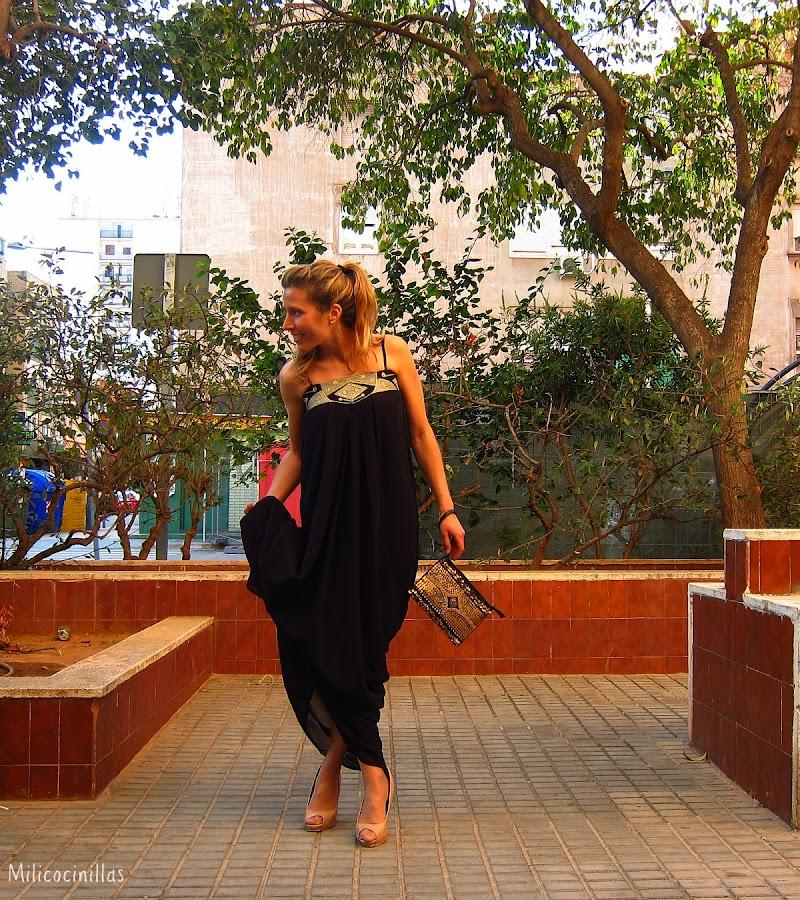 vestido-largo-negro-wildpony-sagunto