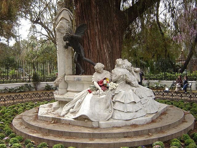 Glorieta de Bécquer en Sevilla