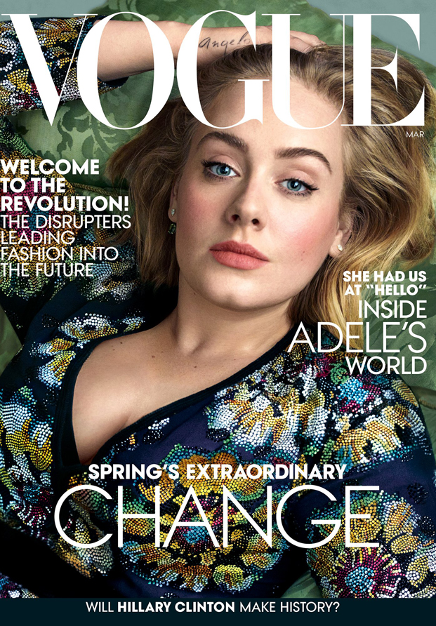 Adele Vogue March 2016