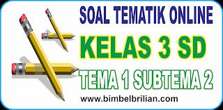 Soal Online K13 Kelas 3 SD Tema 1 Subtema 2 Pertumbuhan Dan Perkembangan Manusia - Langsung Ada Nilainya