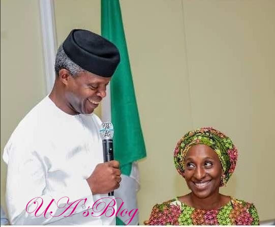'Your Heart Is My Home' - Yemi Osinbajo Sends His Wife Sweet Message On Her Birthday (Photos)