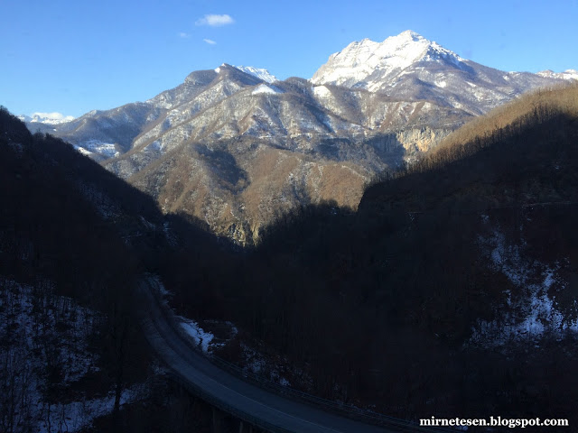 Из Черногории в Сербию на автобусе