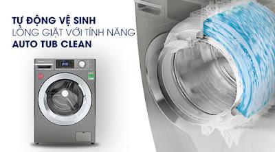 Tính năng Tự vệ sinh lồng giặt (Auto Tub Care)