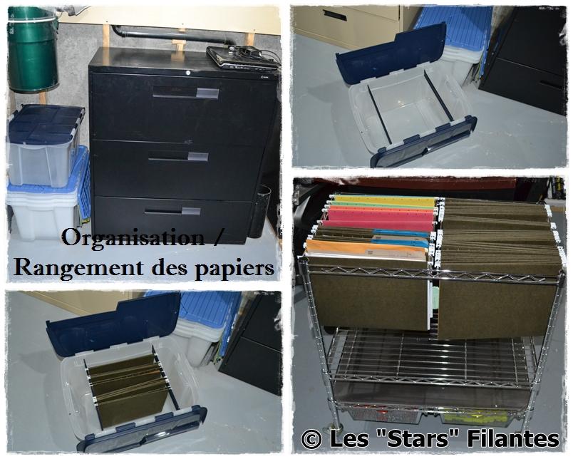 Organisation rangement papiers maison segu maison - Organiser sa maison rangement ...