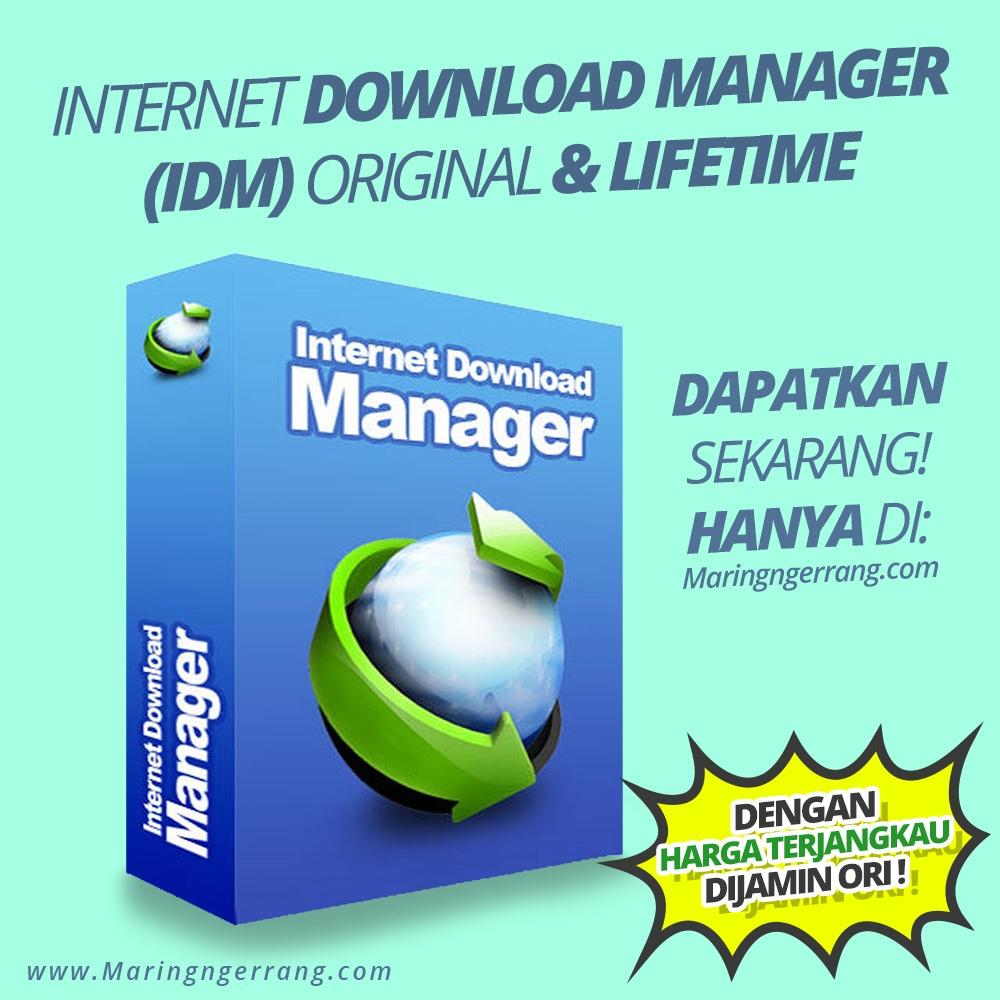 Jual Lisensi Internet Download Manager (IDM) | Lifetime | Resmi