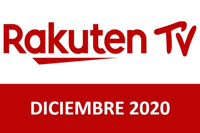 Novedades y Estrenos de Rakuten TV España Diciembre 2020
