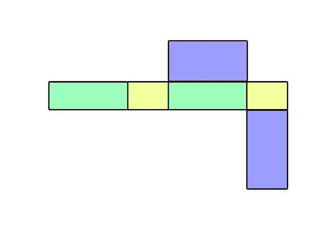 gambar jaring jaring balok yang benar