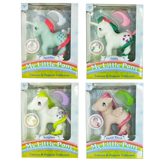 MLP Classic Unicorn & Pegasus Collection by Basic Fun