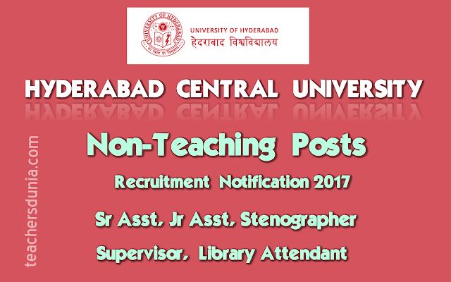 HCU-Non-Teaching-Posts-Recruitment-Notification-2017