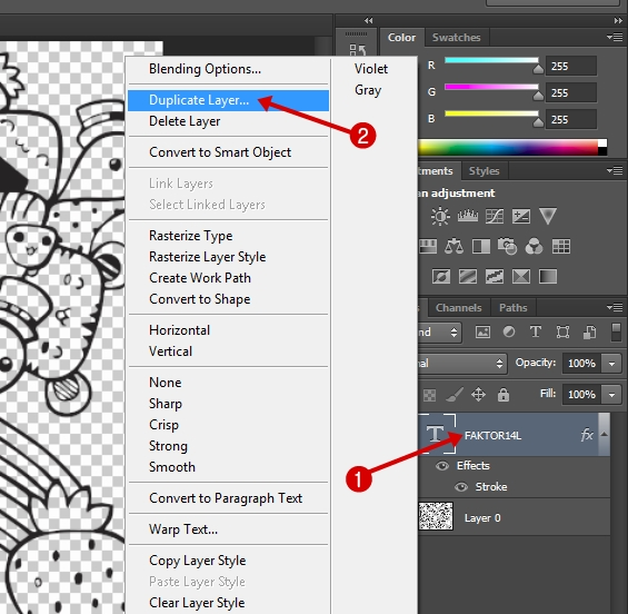 Membuat Doodle Art di Photoshop