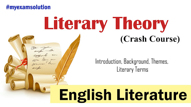 literary theory, criticism, my exam solution, english lierature, ugc net english literature, ugc net jrf, literary theory for ugc net