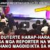 MGA DE-LAWANG REPORTER NAGU-LAT SA ISINI-WALAT NG PANGULO! TUNAY NA MAY PANINDIGAN!
