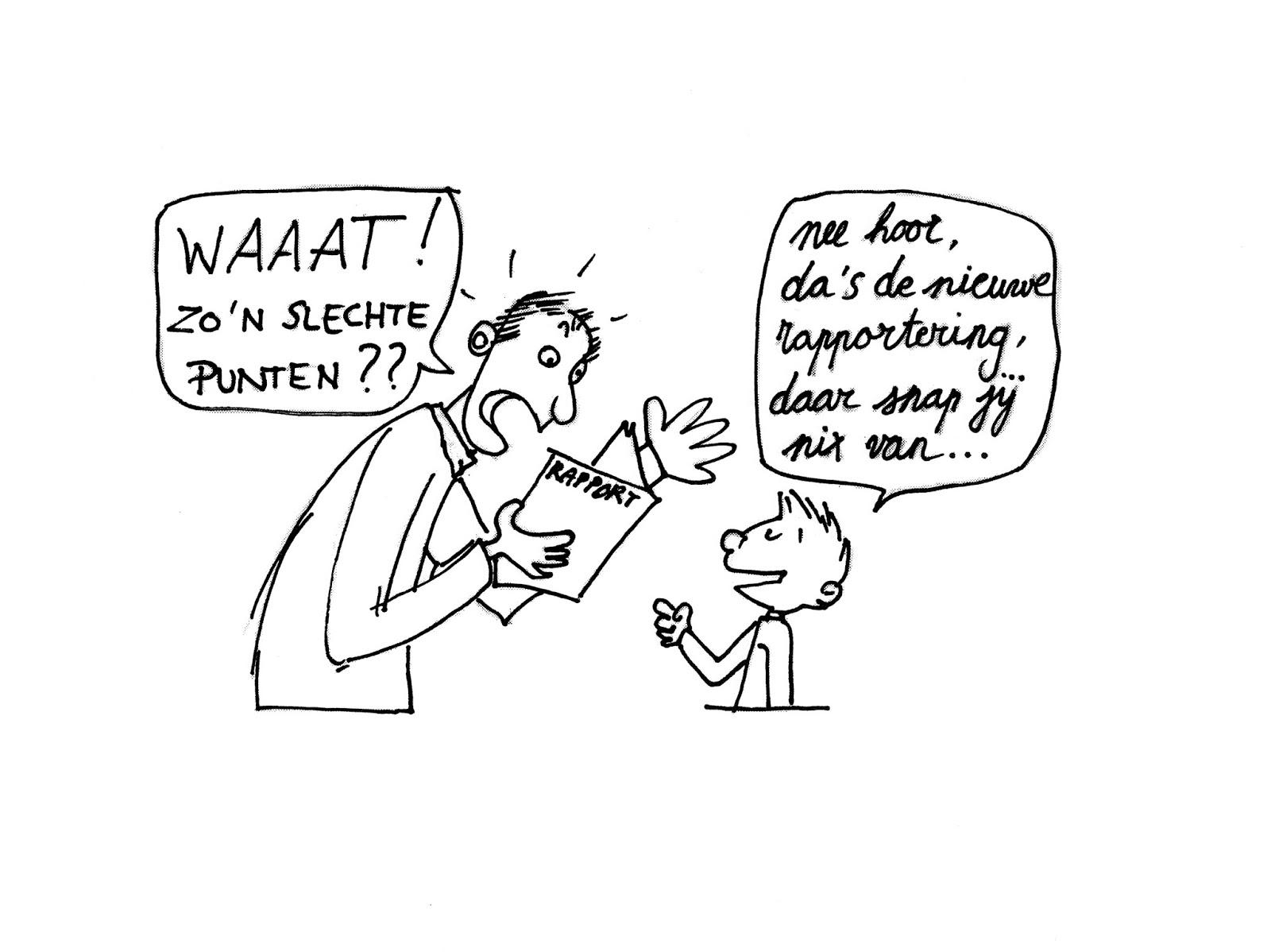 Afbeeldingsresultaat voor schoolrapport cartoon