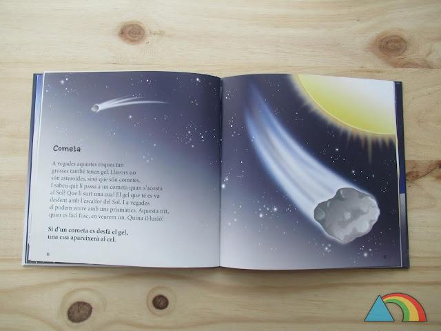 Interior del libro Mirando el Universo de Editorial La Galera
