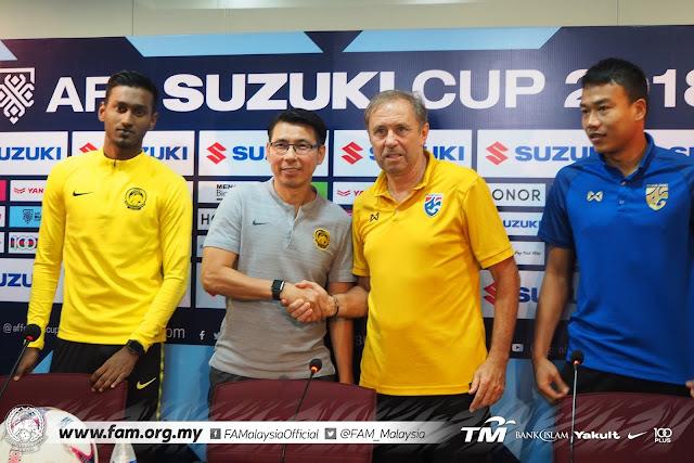Live Streaming Thailand vs Malaysia AFF SUZUKI 5.12.2018
