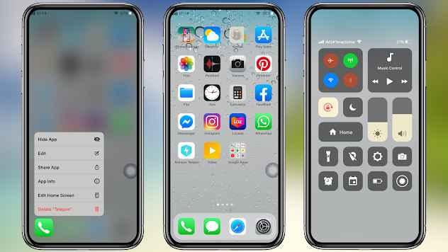 Launcher iPhone Apk Mod VIP Full Pack Premium Gratis