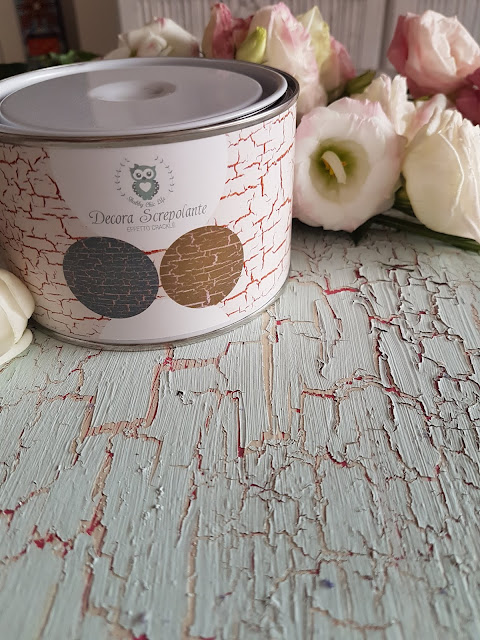decora screpolante, crackle, shabby chic, consumato, invecchiato, decora facile, chalk paint, decorazione, casa