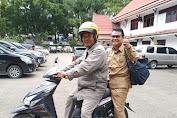 Larang Gunakan Kennas Tahun Baru, Sejumlah Kendaraan Pejabat Di Kerinci Ditarik