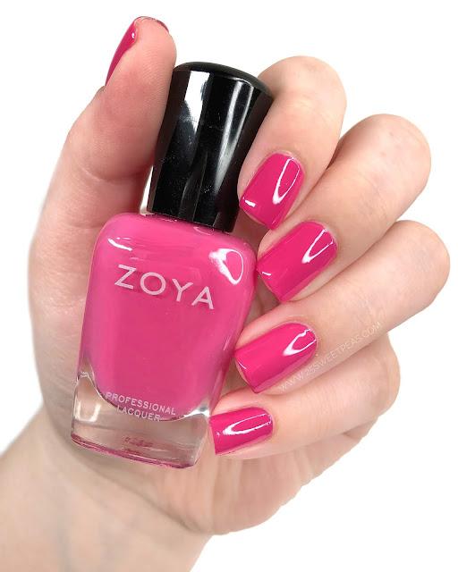 Zoya Dacey Swatch 25 Sweetpeas